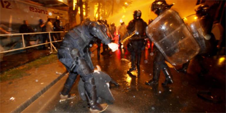 Tote bei blutigen Protesten in Georgien