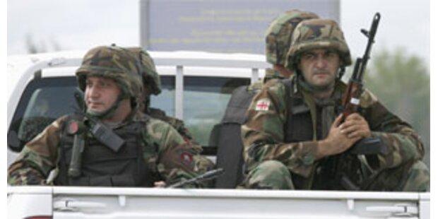 Blutige Feuergefechte in Südossetien