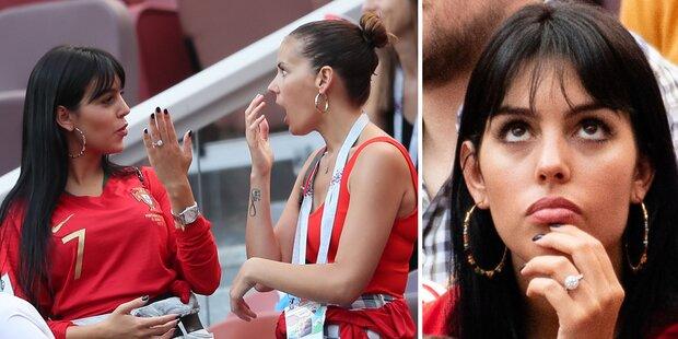 Ronaldo und Georgina verlobt! Das ist der teure Ring