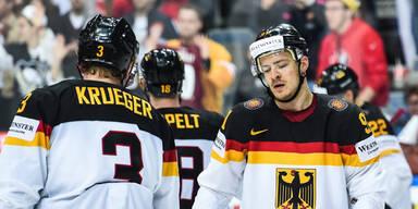 Kanada überrollte Deutschland mit 10:0