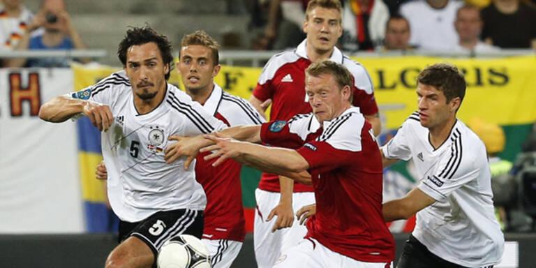 Deutsche gegen Dänen locker weiter