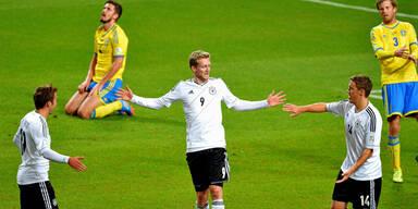 Deutschland gelingt Revanche an Schweden