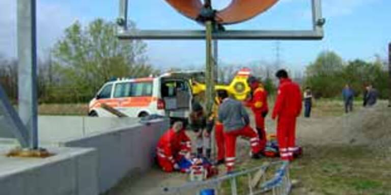 Arbeitsunfall in Gerasdorf bei Wien