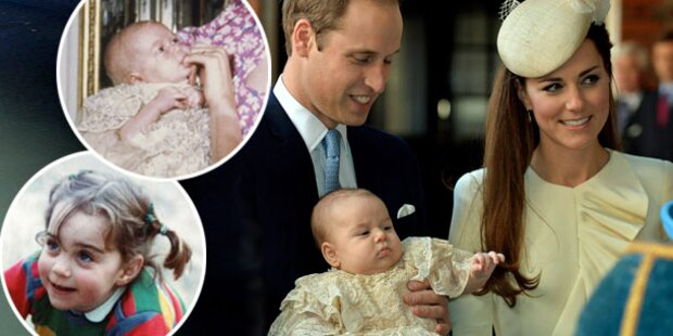 Prinz George: Kates Bäckchen, Wills Augen