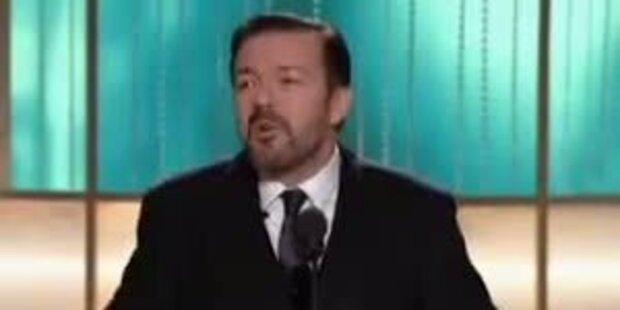 Rick Gervais' ätzende Begrüssungsrede