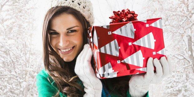 Österreicher kaufen weniger Geschenke