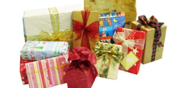 Geschenke mit denen Sie