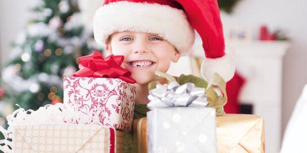 Wie viele Geschenke sind gut für mein Kind?