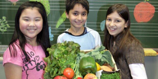Gesünderes Essen an Schulen