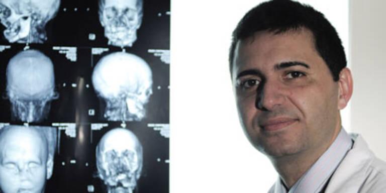 Wirbel um erste Gesichtstransplantation