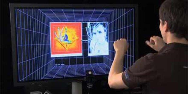 Genial: Computer nur mit Gesten steuern