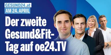 Der zweite Gesund&Fit-Tag auf oe24.TV