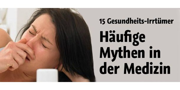 Häufige Mythen in der Medizin