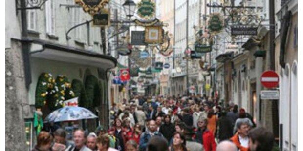 Salzburg verliert Bewohner an andere Bundesländer