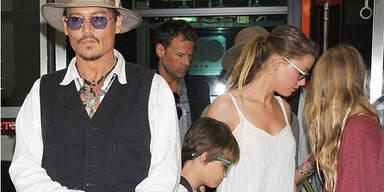 Amber Heard ist schon in die Familie integriert