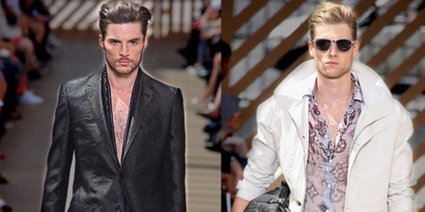 Menswear-Trends von Louis Vuitton und Co.