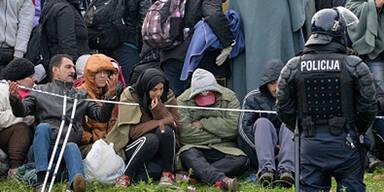 Kroatische Polizei schießt auf Flüchtlinge - Kinder getroffen