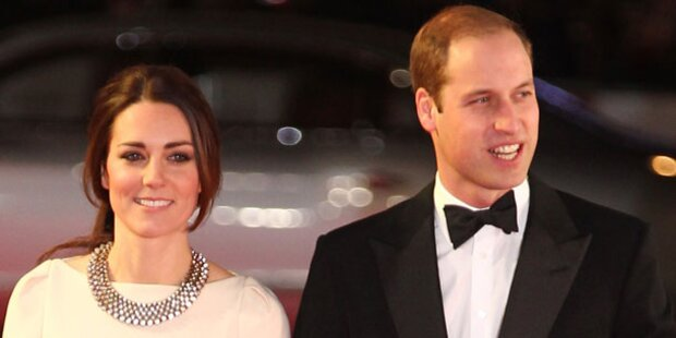 Kate & Will: Todes-News bei Mandela-Premiere