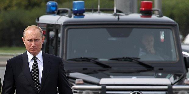 Putin verhängt Einfuhrverbote
