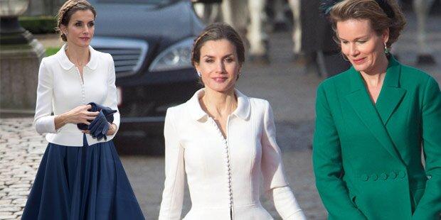 Königin Letizia: So schön in Belgien