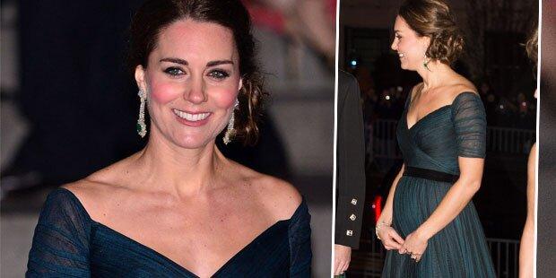 Kate: Strahlend schön mit Babybauch