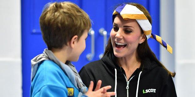 Herzogin Kate: Liebling aller Kinder