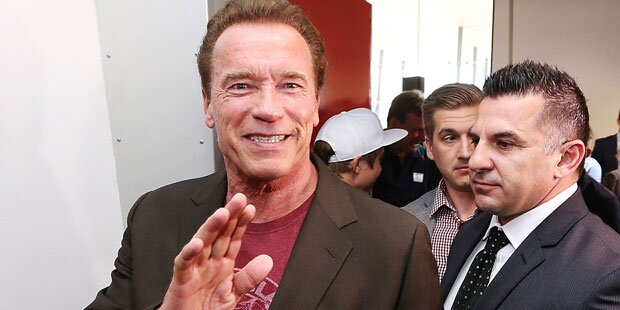 Arnold Schwarzenegger: Freibier in Australien