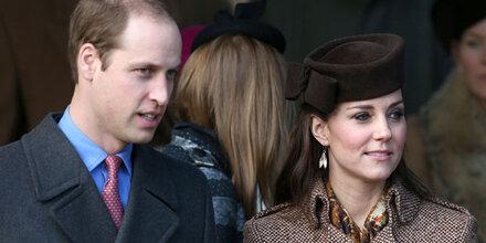 Kate & Will feierten ohne Royals