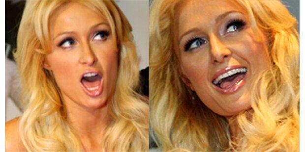 Paris Hilton arbeitet mit Hündchen Tinkerbell zusammen