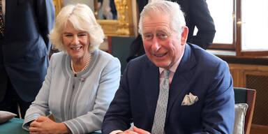 Der britische Thronfolger und seine Frau besuchten eine Probe der Wiener Philharmoniker. Sie waren begeistert!