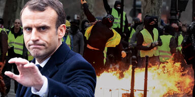 Macron Gelbwesten Proteste