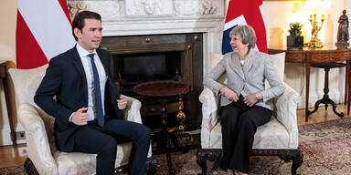 Kurz: Brexit-Lunch mit May
