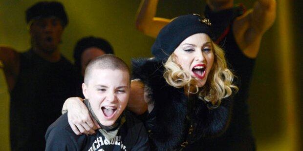 Madonna bringt Kids nach Wien
