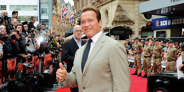 Schwarzenegger dick im Business