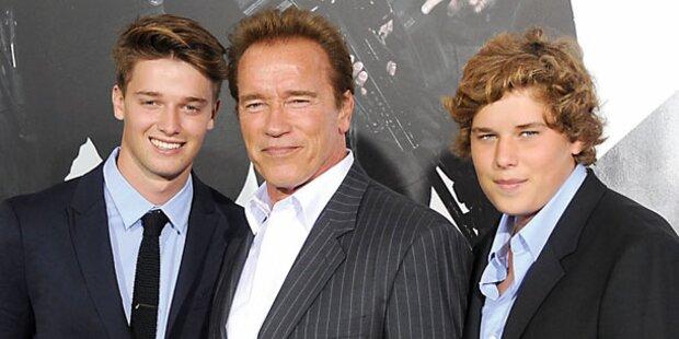 Schwarzenegger hoch drei