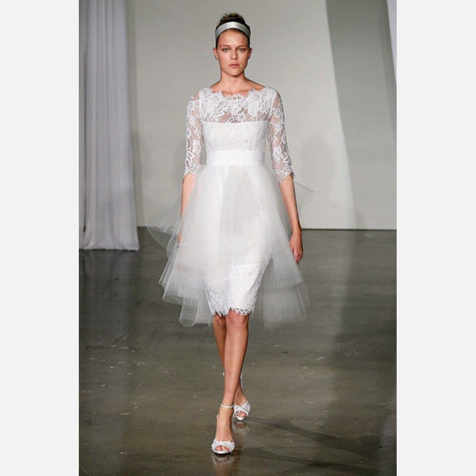 Hochzeit in Valentino-Brautkleid