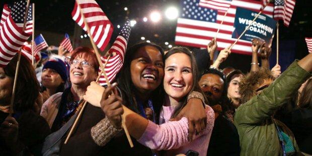 Frauen machten Obama zum Sieger