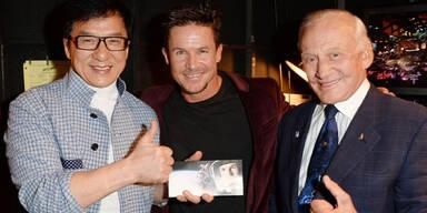 Felix Baumgartner holt sich Spike TV's Guys Choice 2013