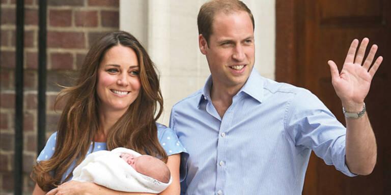 Baby heißt George Alexander Louis
