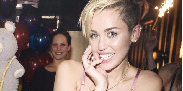 Miley: Sexparty zum Geburtstag