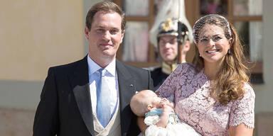Prinzessin Leonore: Das war ihre Taufe