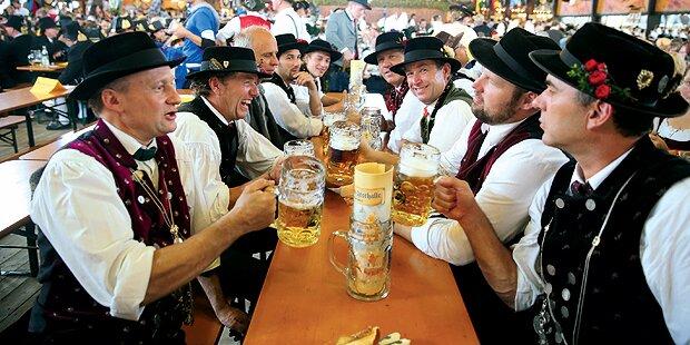 Oktoberfest: Salzburger Musiker als Bierleiche