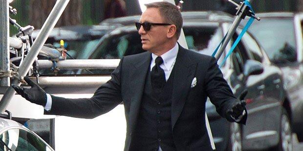 Bond: Daniel Craig wieder verletzt