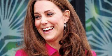 Herzogin Kate kurz vor der Geburt