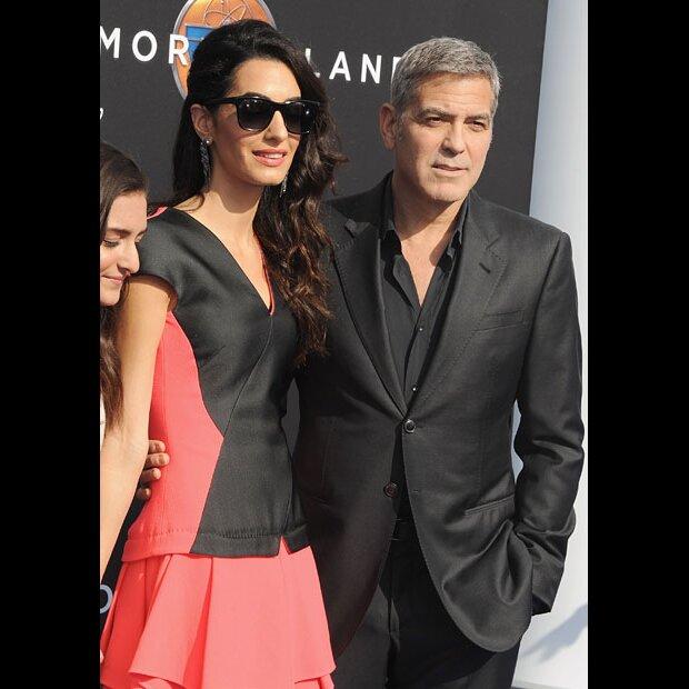 Amal Clooney  nackt