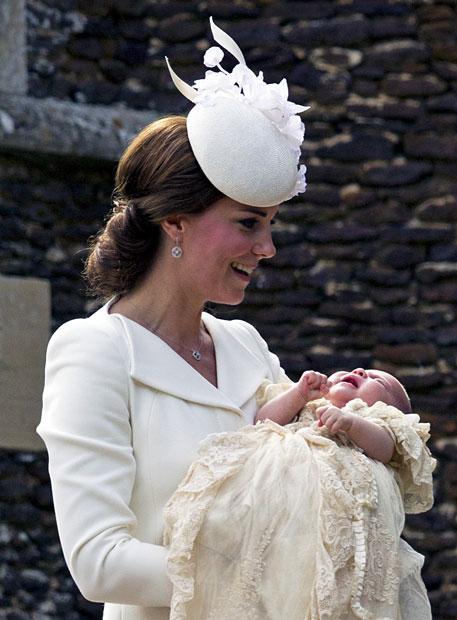 Prinzessin Charlottes Taufe: Alle Bilder