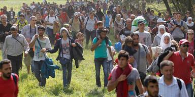 Neue Flüchtlings-Route über Kroatien