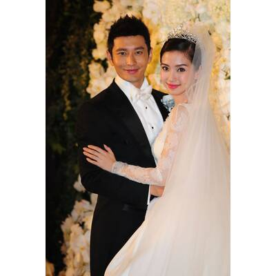 Angelababy heiratet Huang Xiaoming