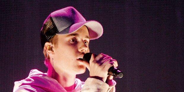 Bieber: Vier Tage Wien-Action