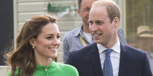 Kate und Will: Ihre süßen Kosenamen
